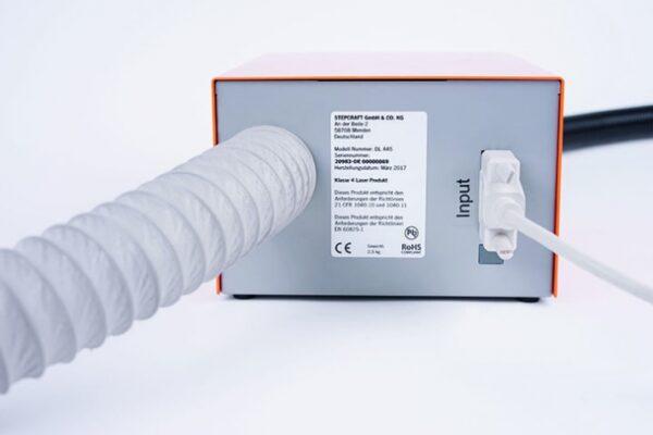 Abluftschlauch für Laser DL445