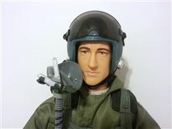 Jet-Pilot grün 1:6 - 1:5