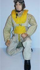 2. Weltkrieg US Navy Pilot 1:6 - 1:5