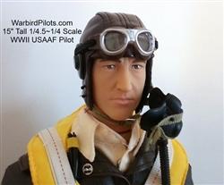 2. Weltkrieg USAAF Pilot 1:4.5 - 1:4